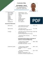 Curriculum Vitae a.I.depay