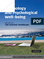 Technology and Psychology - [Yair_Amichai-Hamburger].pdf