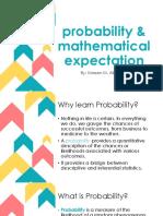 Probability & Mathematical Expectation