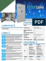 F01T500 Cabinet Datasheet 05
