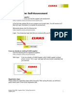 Supplier Portal SRM - Supplier Profile - Training Document for Suppliers