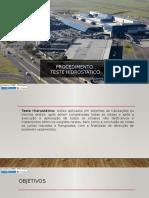 Procedimento Teste Hidrostatico