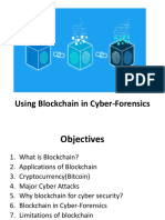 Using Blockchain in CyberForensics