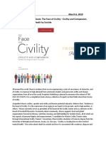 Press Release for Face of Civility Book and Jacqueline Moore Author 031719