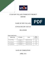 Sg Buloh New Village Report[1][1]