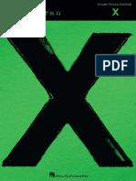Ed Sheeran - X.pdf