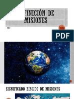 Definición de Misiones