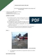 Informe de Capacitacion Entrenamiento en Extintores 28-03-15