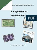 A Maçonaria Na História Postal e Nós Estamos Nela ARLS Estrela Uberabense n°0941-GOBMG - CRUZ DA PERFEIÇÃO MAÇÔNICA