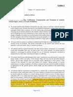 Exhibit a - Animal Ordinance Amendment Highlighted