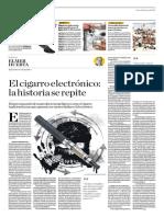 El Cigarro Electrónico, La Historia Se Repite
