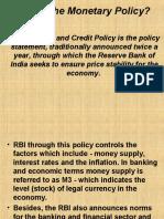 Monetary&FiscalPolicy