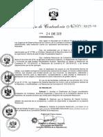 Clasificador Cargos 031 2019 CG