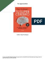 Kaja Nordengen Tu Supercerebro PDF Mobi Epub 4