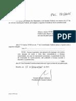 PEC - 181 de 2015