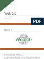WEB 2.0, herramientas y caracteristicas