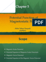 5. Potential Function of Magnetostatic Fields