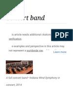 Concert Band - Wikipedia