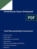 Pemeriksaan Dasar Orthopaedi