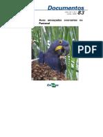 Aves ameaçadas ocorrentes no Pantanal .pdf