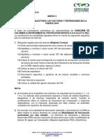 ANEXO 4 Requisitos Legales Para Las Facturas y Retenciones en La Fuente 2018