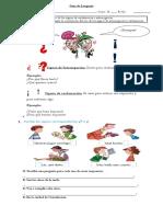 Escribe y Dibuja Adjetivos Calificativos