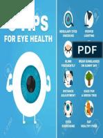 85714674 8 Consejos Para La Infografía de Salud Visual Cómo a Los Ojos Del Cuidado de La Salud Carácter de Globo Ocu