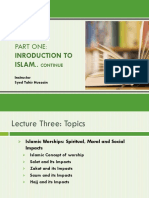 CSS ISLAMIAT LECTURE