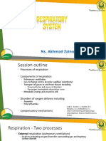 Concept of Respiratory System