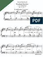 MacDowell - Woodland Sketches Op. 51