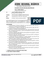 Informe de Precalificación Nª 012 Maria Pilar Manzano Loyola Alex Orizano Perez Deficiencia en Elaboracion de Exp