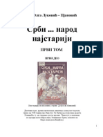 Srbi Narod Najstariji - Dr. Olga Lukovic Pjanovic