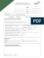 formulario factibilidad electrica emelari