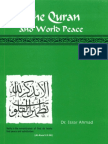 Quran and World Peace