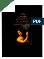 Din Tainele Vietii Si Ale Universului Scarlat Demetrescu