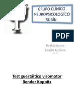 Test Guestáltico Visomotor Bender
