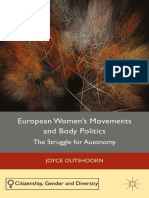 (Citizenship, Gender and Diversity) Joyce Outshoorn (eds.)-European Women's Movements and Body Politics_ The Struggle for Autonomy-Palgrave Macmillan UK (2015).pdf