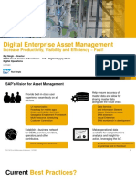 5th Session Raj Singh Digital Asset Management –Increase Productivity, Visibility and Efficiency With the Sap Digital Operations Solutions