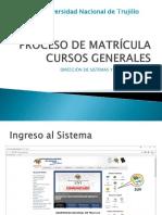 Tutorial Matricula Cursos Generales Oficial