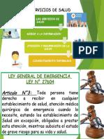 Derechos SERVICIO DE SALUD