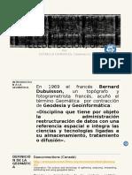 Introduccion de La Geomática y Su Interrelación