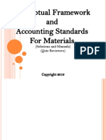 CFAS Accounting for Materials Solutions and Manuals 2019