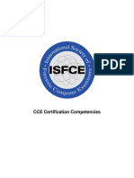 CCE Certification Competencies