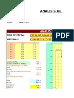 Analisis de Estabilidad Presa