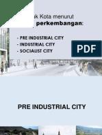 3 Bentuk Kota Berdasarkan Periode Perkembangan