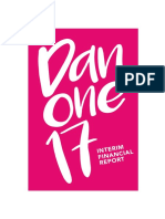 Danone - Interim Financial Report 2017