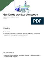 12. Gestión de Procesos de Negocio