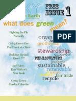 Blue Sky Green Earth Issue 1 Jan 2010
