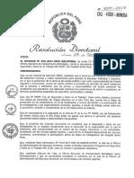 R.D. N° 454-2017   PROGRAMA DE SEGURIDAD Y SALUD EN EL TRABAJO AÑO 2018