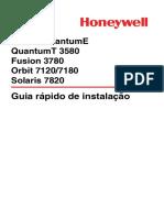 Manual Honeywell MS7820